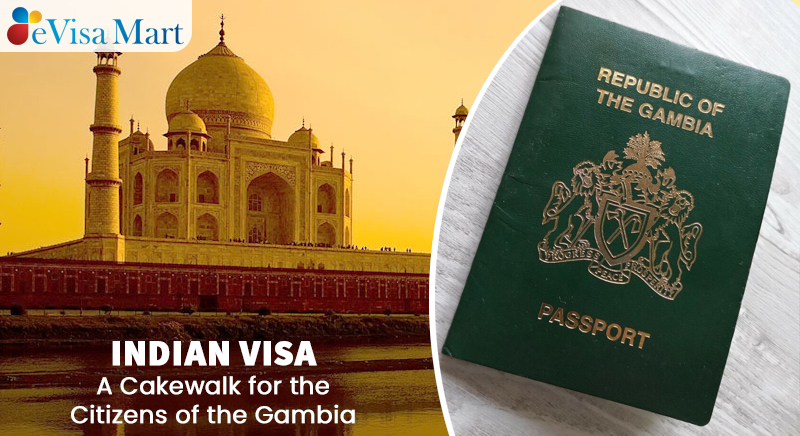 Indian Visa for the Citizens of the Gambia