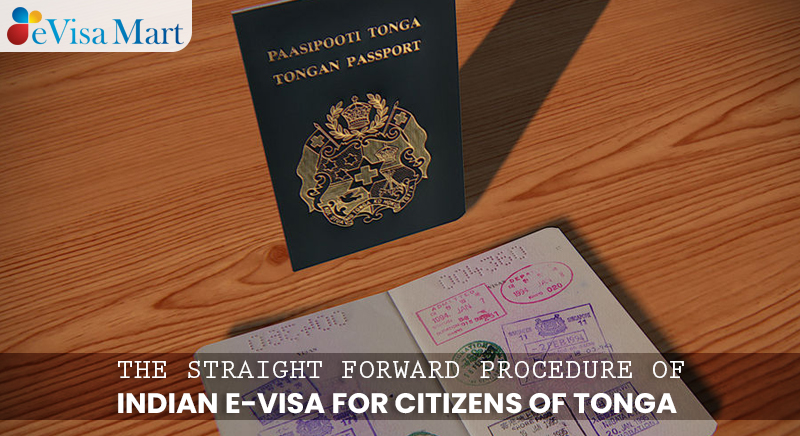 Indian E-Visa for Citizens of Tonga