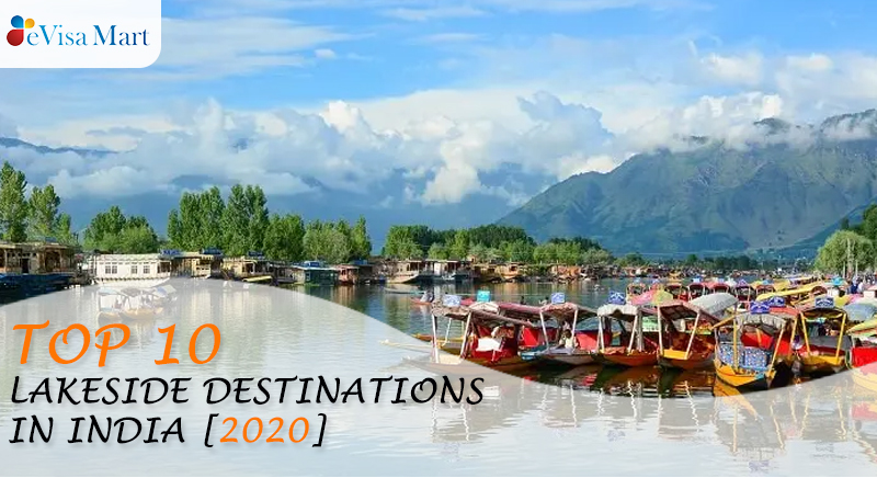 Top Lakeside Destinations in India