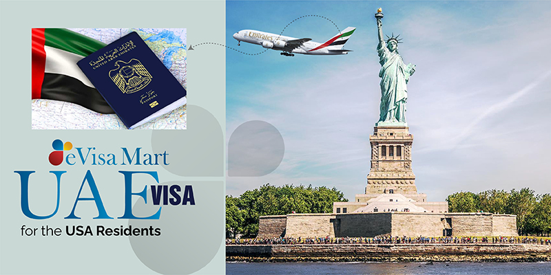 UAE Visa for the USA Residents